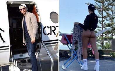Cristiano Ronaldo vraj uviazol na Madeire. Súkromné lietadlo za 30 miliónov ho pre Covid-19 nemôže vyzdvihnúť