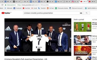 Cristiano Ronaldo vypredal zásoby dresov Juventusu na celú sezónu za jediný mesiac