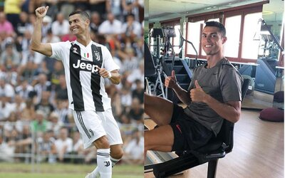 Cristianovi Ronaldovi naordinovali špeciálne tréningy, aby znovu našiel gólovú formu aj v talianskej lige