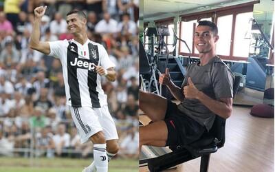 Cristianu Ronaldovi naordinovali speciální tréninky, aby znovu našel gólovou formu i v italské lize