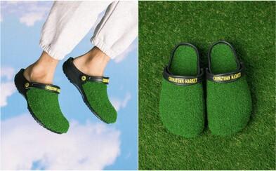 Crocs predstavuje neestetické trávové krokodílky. Kolaborácia s Chinatown Market posúva hranice nevkusu
