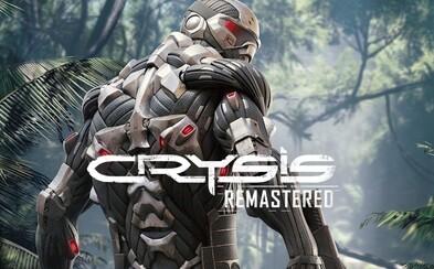 Crysis Remastered vyjde na PC, PS4, Xbox a Nintendo Switch. Nabídne ray tracing, vysoké rozlišení a lepší grafiku