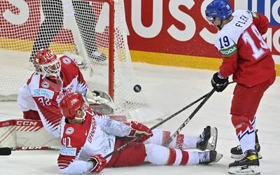 Čtvrtfinále je nadále nejisté. Česko porazilo Dánsko 2:1 až po nájezdech