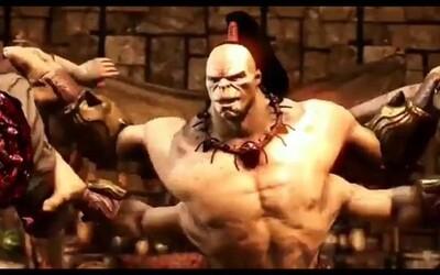 Čtyřruké monstrum Goro předvádí svou devastující sílu v novém traileru pro Mortal Kombat X