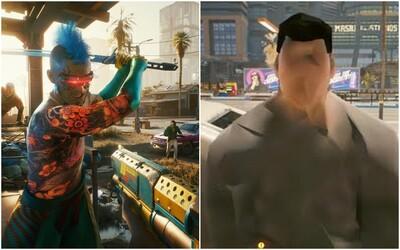 Cyberpunk 2077 vyzerá a beží na PS4 a Xbox One príšerne. Grafika pôsobí ako spred 10 rokov