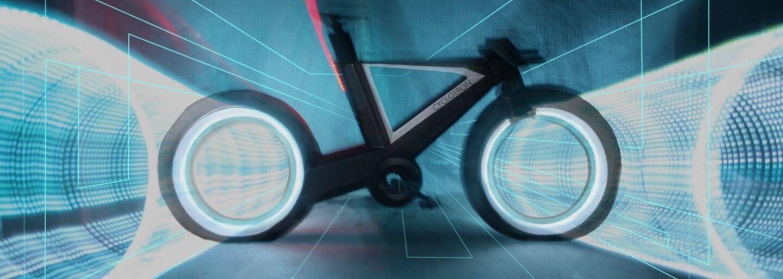 Cyclotron je kolo z budoucnosti, které má kola bez vidlic, futuristický design a moderní technologie