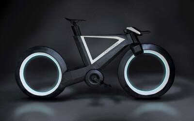 Cyclotron je bicykel z budúcnosti, ktorý má kolesá bez vidlíc, futuristický dizajn a moderné technológie