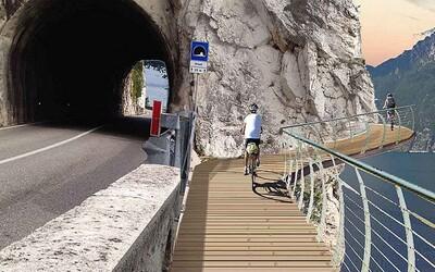 Cyklisté v Itálii dostanou obrovskou, 140 kilometrů dlouhou cyklotrasu. Dočkají se náročného převýšení i dechberoucích výhledů