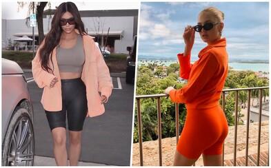 Cyklistické šortky: Horúci trend, ktorý si obľúbili Kardashianky či modelky z Victoria's Secret