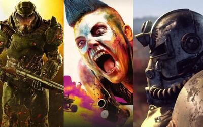 Bethesda oznámila pokračovanie Skyrimu, Wolfensteina, Doom 2, vesmírne RPG Starfield a ukázala úžasne vyzerajúce Rage 2. Privítajte next-gen
