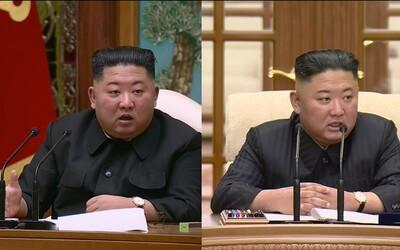 Kim Čong-un výrazně zhubl. Spekuluje se, zda ztrátu hmotnosti způsobilo vážné onemocnění, nebo dieta a cvičení.