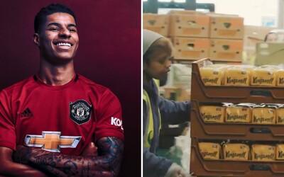 McDonald's rozdá milión porcií jedla pre znevýhodnené deti v spolupráci s futbalistom z Manchestru United.