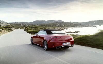 Luxusní Mercedes E kupé a kabriolet dostaly novou tvář a výkonnější motory.