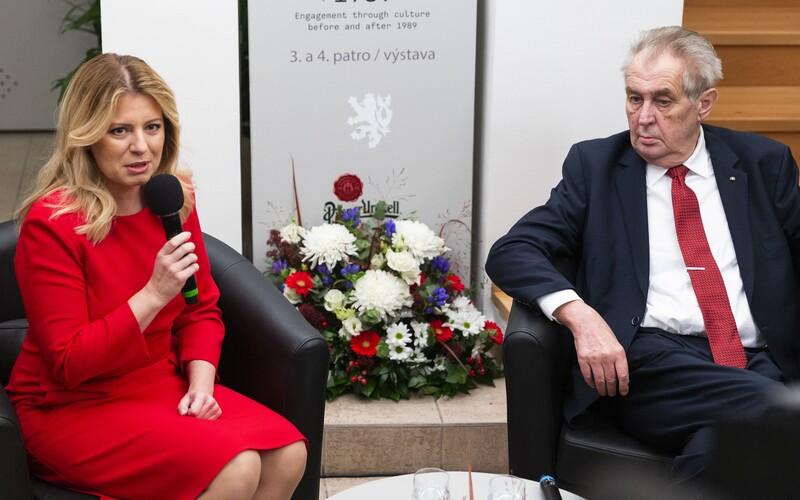 Dnes si pripomíname 102 rokov od vzniku Československa. Zuzana Čaputová telefonovala Milošovi Zemanovi.