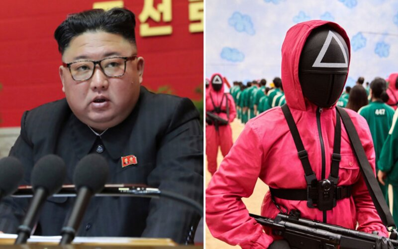 Kim Čong-un využíva seriál Squid Game na propagandu. Južná Kórea je prehnitá kapitalizmom, smeje sa propagandistický web.