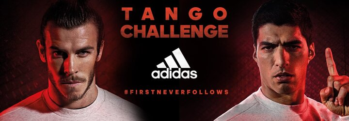 Zapoj sa do futbalového turnaja adidas Tango Challenge a vyhraj zájazd na Ligu majstrov či kopačky X 16 a ACE 16