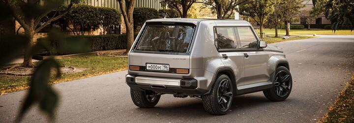 Rus spojil Mercedes třídy G a Ladu Nivu. Výsledkem je mimořádně zajímavé auto