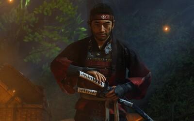 Pro Ghost of Tsushima vyjde v srpnu příběhové rozšíření a speciální PS5 verze. Trailer je nabitý samurajskou akcí.
