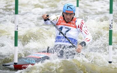 Češi mají první medaili! Pro stříbro v Tokiu dojel kanoista Lukáš Rohan.