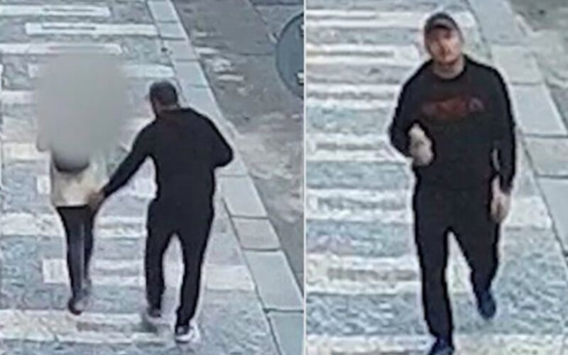 Muž osahával ženu na ulici v Praze. Pátrá po něm policie.