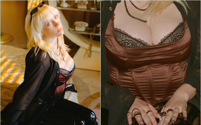 Billie Eilish opäť na Instagrame ukazuje detail poprsia. Nešla som na plastiku, nie som ako tie bezduché modelky, hovorí.