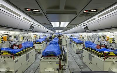 Nemecko poslalo lietadlo s jednotkou intenzívnej starostlivosti po pacientov z Talianska. Postará sa o nich vo svojich nemocniciach.