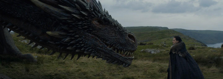 Daenerys si bola údajne na 85% istá, že jej drak Jona nezabije. Ako sa daná scéna ale vlastne natáčala?