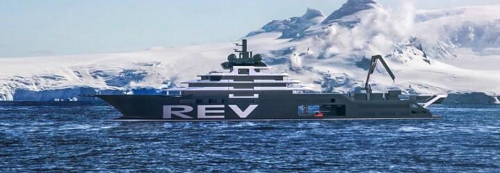 Místo užívání si luxusu zachraňuje přírodu. Miliardář si dal postavit loď nejen na čištění oceánů od plastu