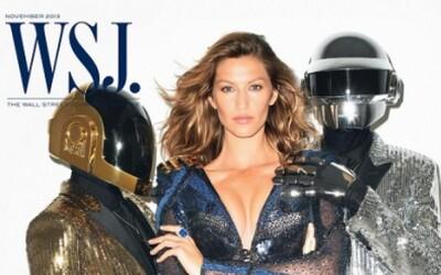 Daft Punk a Gisele Bündchen na obálce magazínu WSJ