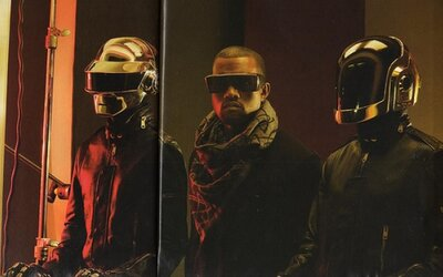 Daft Punk, JAY Z a Kanye West na jednej skladbe. Computerized