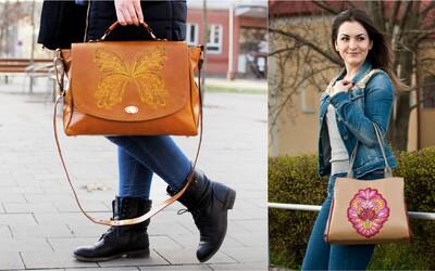 Dajana popri štúdiu vyrába kabelky. Začínala v starej dielni na dedine, dnes má vlastnú značku a predáva doma i vo svete (Rozhovor)