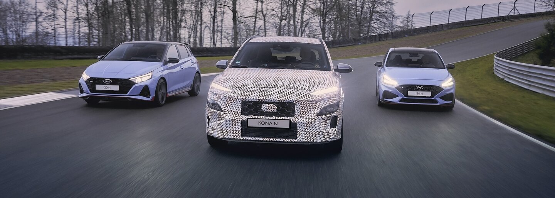 Další Hyundai N model je na spadnutí. Dvoulitrová Kona N možná dostane pohon obou náprav