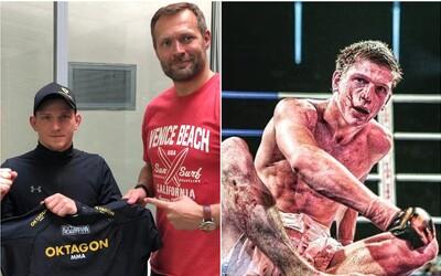 Další posila pro Oktagon MMA! Do organizace přichází elitní bojovník David Dvořák