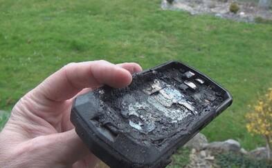 Ďalší prípad horiacého smartfónu na Slovensku. Dávid si počas noci nabíjal telefón neznámej značky a nad ránom ho zobudil výbuch
