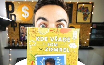 Ďalší slovenský youtuber vydáva knihu. PPPíter v Afrike musel podplácať a viackrát sa bál o život