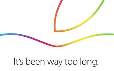 Ďalšia Apple konferencia už o týždeň! Predstavia sa nové iPady a iné