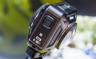 Ďalšia konkurencia pre GoPro, tentoraz od Nikonu. Jeho KeyMission však zvládne aj 360-stupňové videá