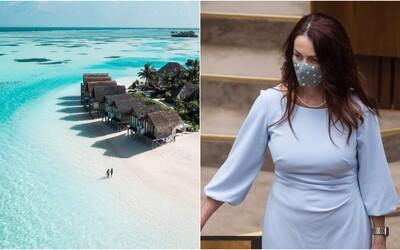 Ďalšia poslankyňa vládnej strany odletela na dovolenku do exotiky. Andrea Letanovská má byť na Maldivách