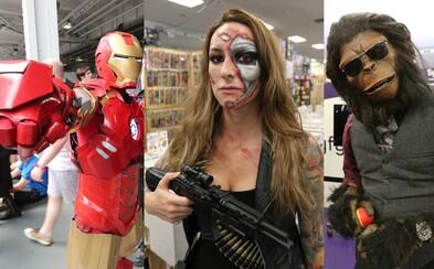 Ďalšie podarené cosplay zábery, tentokrát z londýnskeho Comic-Conu