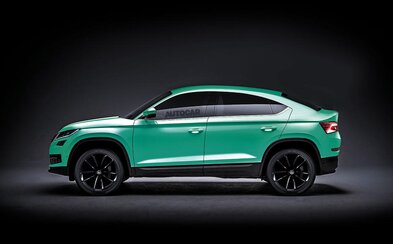 Další SUV značky Škoda je potvrzeno. Ponese název Kodiaq GT a dostane střechu připomínající kupé