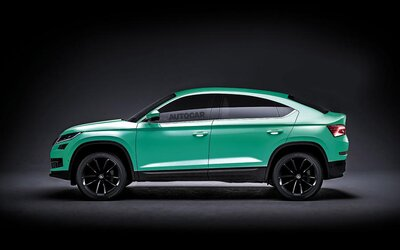 Ďalšie SUV značky Škoda potvrdené. Ponesie názov Kodiaq GT a dostane strechu pripomínajúcu kupé