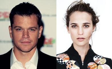 Damonov nadchádzajúci Jason Bourne ulovil krásnu Aliciu Vikander