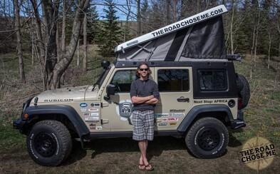 Dan prešiel z Aljašky do Argentíny, ale teraz sa chystá na Afriku. Jeho prestavané auto mu bude slúžiť až 100-tisíc kilometrov v priebehu 2 rokov