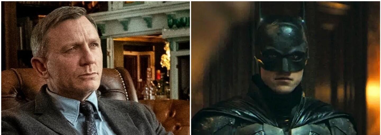 Daniel Craig vydělá za 2 díly Knives Out 100 milionů dolarů. Robert Pattinson vydělá za Batmana údajně jen 3 miliony
