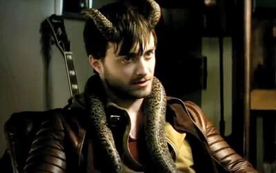 Daniel Radcliffe je maniak s rohmi na hlave!