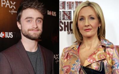 """Daniel Radcliffe kritizuje autorku knih o Harrym Potterovi J. K. Rowlingovou: """"I transgender ženy jsou ženy"""""""