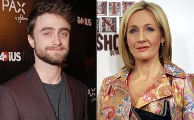 """Daniel Radcliffe kritizuje autorku kníh o Harrym Potterovi J.K. Rowlingovú: """"Aj transrodové ženy sú ženy"""""""