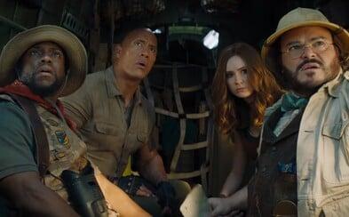 Danny DeVito se v Jumanji 3 stává The Rockem. Debutové záběry nové části slibují ještě šílenější film