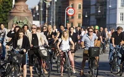 Dánsko dosáhlo významného milníku, v Kodani je více kol než aut