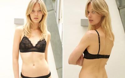 Dánskou modelku vyřadili z přehlídky Louis Vuitton, protože je prý příliš tlustá. Doporučili jí celý den nejíst a pít jen vodu